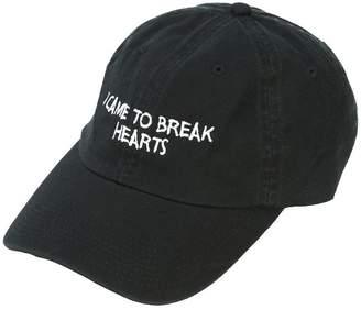 Nasaseasons embroidered slogan baseball cap