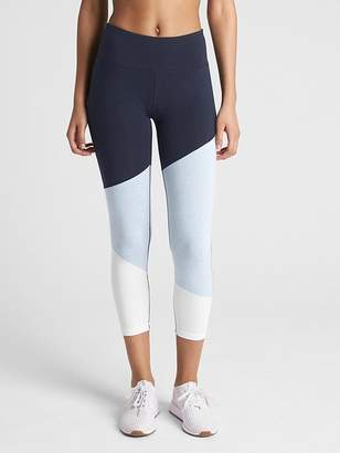 Gap GFast 7/8 Colorblock Leggings in Performance Cotton