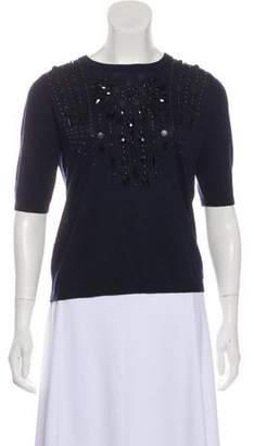 Magaschoni Silk Lightweight Sweater Navy Silk Lightweight Sweater