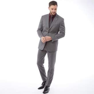 Ted Baker Mens Decadent Debonair Plain Suit Grey