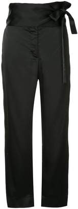 Forte Forte tied high waist trousers