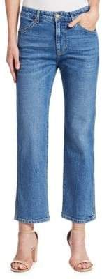 Victoria Beckham Victoria, Cali Cropped Flare Jeans