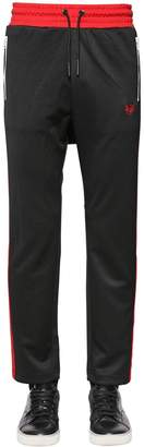 Diesel Two Tone Track Pants W/ Side Bands