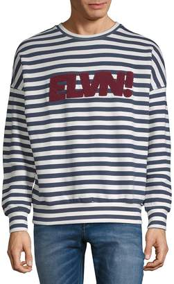 Eleven Paris Men's Sandy Graphic Cotton Sweater