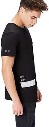 FIND Men's T-Shirt Print Regular Fit,Small