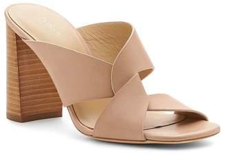 Botkier Women's Raven Leather Slide Sandals