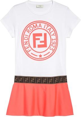 Fendi Logo Dress