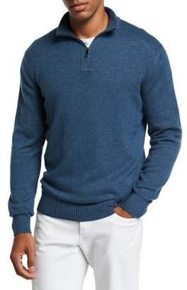 Loro Piana Men's Mezzocollo Bantiger Long-Sleeve Sweater