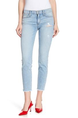 Siwy Denim Lauren Distressed Mid Rise Skinny Jeans