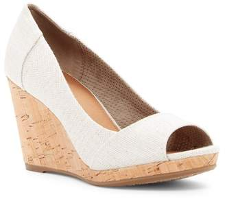 Toms Stella Canvas Wedge Sandal