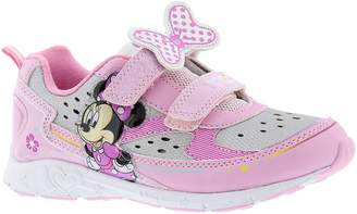 Disney Minnie Mouse Girls' Light-Up Sneakers