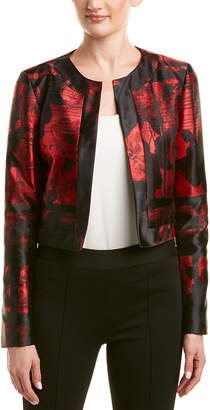 Carolina Herrera Silk-Lined Jacket