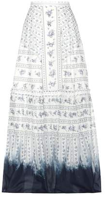 Erdem Tavi printed cotton skirt