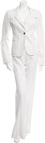 GucciGucci Wide-Leg Two-Piece Pantsuit