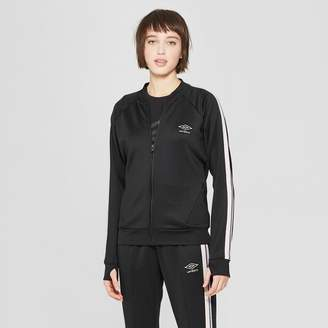 Umbro Women's Full Zip Windbreaker Baseball Jacket