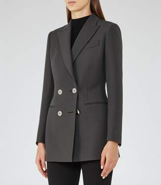 Reiss Cameo Double-Breasted Blazer