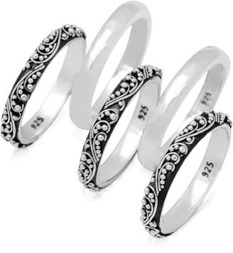 Lois Hill Stacked Ring Set