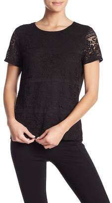 Modern American Designer Lace Front Top