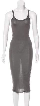 Rick Owens Sleeveless Midi Dress w/ Tags