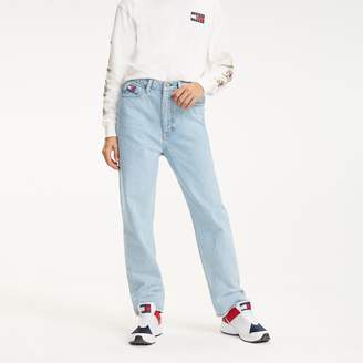 Tommy Hilfiger Crest Capsule Bleached Mom Jean