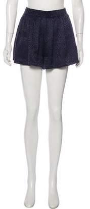 Roseanna Mini Silk Shorts