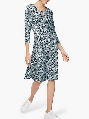 Brora Liberty Keyhole Dress, Midnight Blossom
