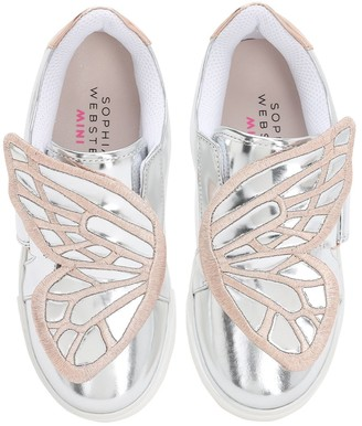 Sophia Webster Butterfly Leather Sneakers