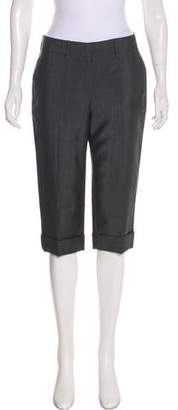 Reed Krakoff Cropped Mid-Rise Pants