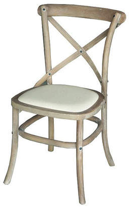 Dining Side Chair in Wash White