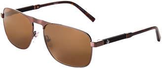 Montblanc MB 655S Bronze-Tone Navigator Sunglasses