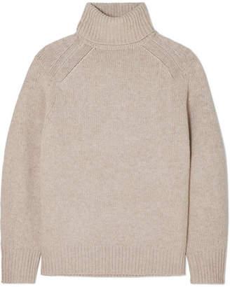 Melange Home LOULOU STUDIO - Oversized Wool-blend Turtleneck Sweater - Beige