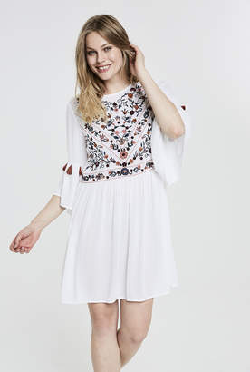 Y.A.S Tall Chella Embroidered Dress