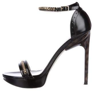 Jason Wu Chain-Link Platform Sandals