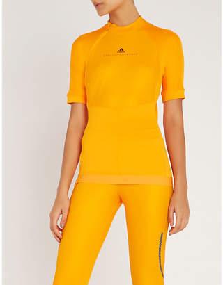 adidas by Stella McCartney Run stretch-jersey top