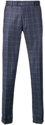 Berwich classic checked trousers