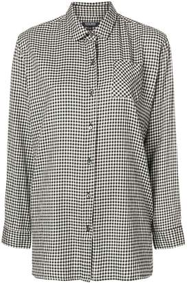 Woolrich fine check shirt