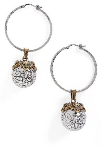 Alexander McQueenWomen's Alexander Mcqueen Metallic Sphere Earrings