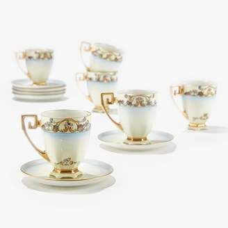 ABC Home Vintage Demi Cups & Saucers Set of 6 Multi Floral