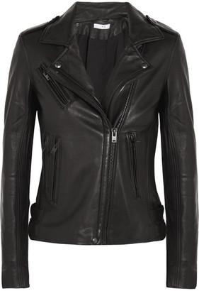IRO Leather Biker Jacket - Black