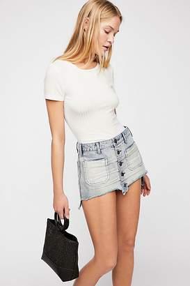 One Teaspoon Oneteaspoon OneTeaspoon Le Cat Mini Skirt