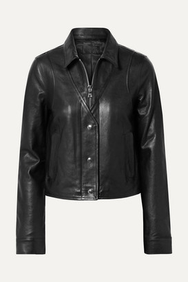 RtA Noelle Leather Jacket - Black