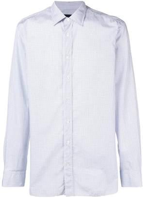 Lardini checked classic shirt