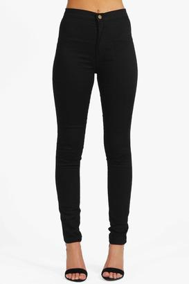 boohoo Avah High Rise Disco Jeans