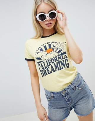 Brave Soul Califonia Dreaming T Shirt