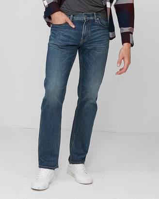 Express Slim Straight Dark Wash Stretch+ 365 Comfort Jeans