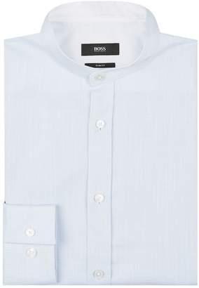 BOSS Mandarin Collar Shirt