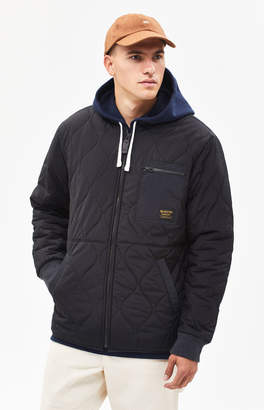 Burton Mallett Black Bomber Snow Jacket