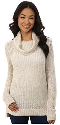 DKNY Women's Turtleneck Yarn Mix Pullover XL