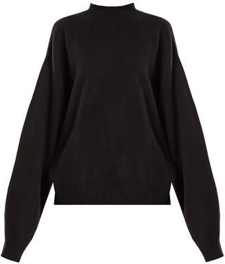 Raey Balloon-sleeve cashmere sweater