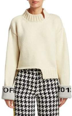 Off-White Destroyed Knit Sweater